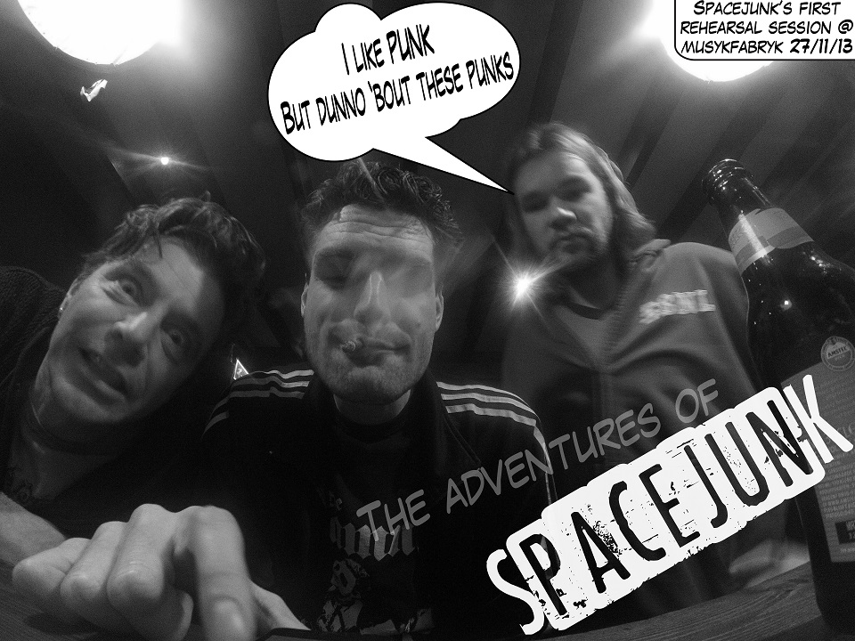 The adventures of Space junk #1